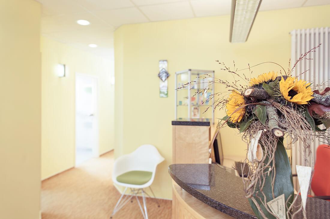 Zahnarzt Weißenfels - Keck - Praxis - Rezeption