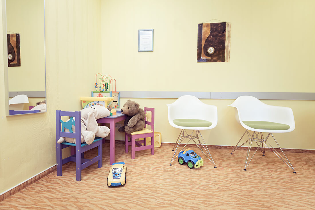 Zahnarzt Weißenfels - Keck - Praxis - Kinderecke